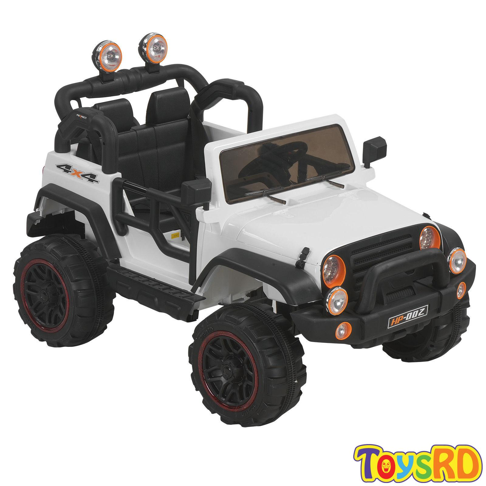 53691a0688b2 Click to enlarge. HomeRIDE ON CARS 12v Kids Ride on Cars Electric Battery  Power Wheels Jeep Toy Car Remote Control